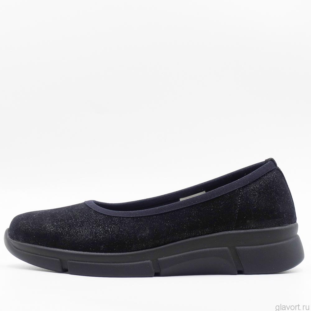 Туфли ортопедические женские Berkemann Giselle, черный уголь 04301-936 фото