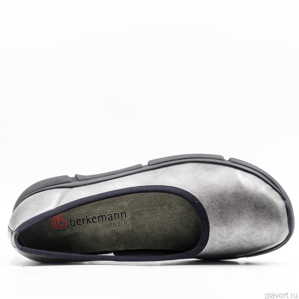 Туфли ортопедические женские Berkemann Giselle, серая бронза 04301-682 фото