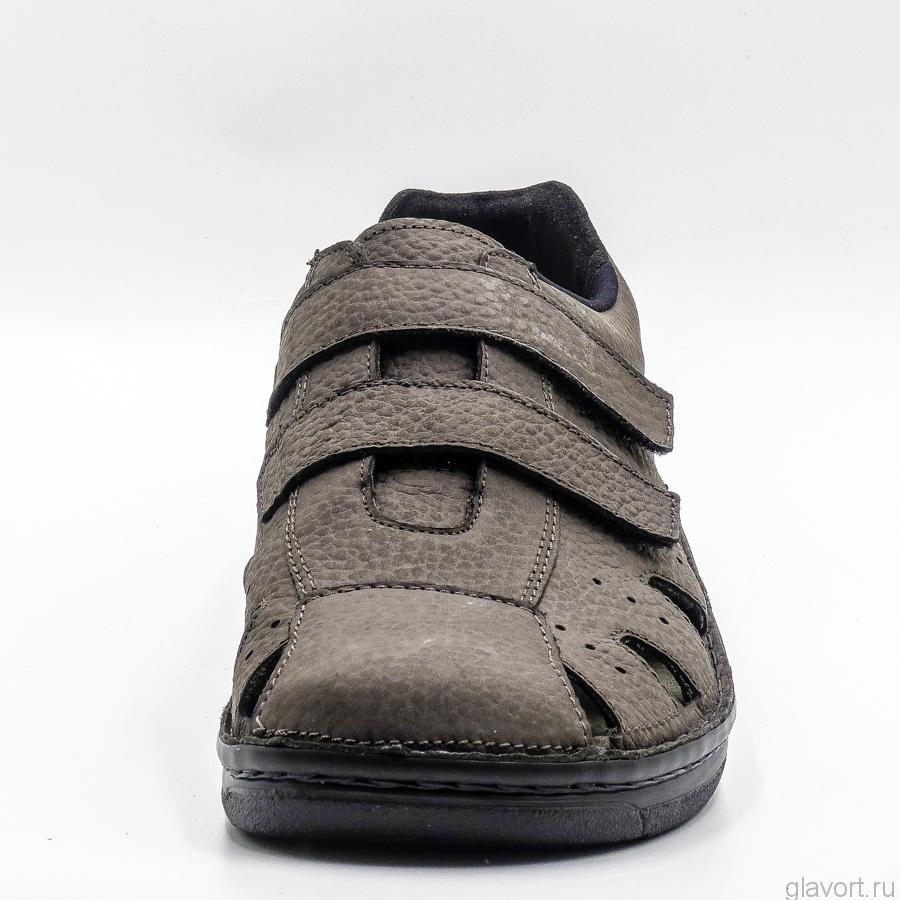 Мужские ортопедические туфли Berkemann Joost, антрацит 05722-978 фото